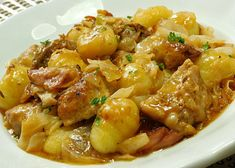 Gnocchi, Kung Pao Chicken, Food And Drink, Menu, Treats, Ethnic Recipes, Menu Board Design, Sweet Like Candy, Goodies