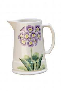 Aston Pottery Auricula Collection Lavender Purple 2 Pint Jug from Aston Pottery, again a village very close to me