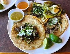 Great cheap eats in RVA at La Milpa Richmond VA - Real Mexican Food & Market, with authentic soft corn tacos and spicy sauces. Shown is lengua, or tongue - tender and delicious! From @thegoodeatsco. Nice pick, great choice and thank you for sharing!
