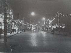 Christmas in the High Street, Bognor Regis, Old Photos, Past, Retro, Street, Christmas, Travel, Antique Photos, Yule