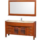 "Found it at AllModern - Daytona 60"" Single Bathroom Vanity Set with Mirror - also in Espresso"
