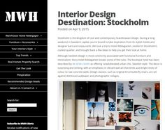 Interior Design Destination: Stockholm by featuring our Pencher wall light - April 2015 Industrial Furniture, Industrial Style, Warehouse Home, Warehouse Conversion, Book And Magazine, Interior Design Studio, Scandinavian Design, Stockholm, Wall Lights