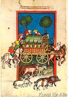 Rudolf von Ems - Rudolf von Ems/Reise Jakobs/Buchmal.1411