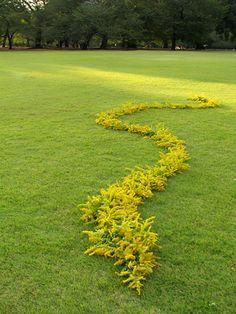 kenji izumi Follow 08-10-29gyoen-4-Land art