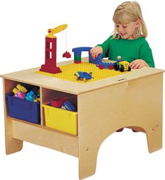 Need to figure out how to incorporate my daughter's lego table and chairs, play kitchen, large easel, and toy bins as well as all of her bedroom furniture into her new room.