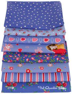 Tenderness Fat Quarter Bundle of Pam Kitty Love #fabric #backtoschool