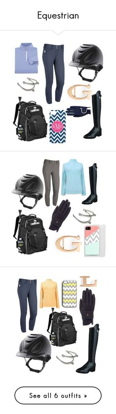 """""""Equestrian"""" by cruise12 ❤ liked on Polyvore featuring Roeckl Sports, equestrian and C. Wonder"""