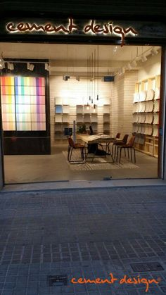 #Showroom #Barcelona #CementDesign #Materiales #Diseño #Creatividad #Interiorismo #Arquitectura Showroom Barcelona, Cement Design, All Over The World, Ideas, Creativity, Architecture, Interiors, Thoughts