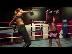 Muay Thai Motivational Fitness Video with Model Chontel Hau!