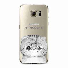 Phone Case for Samsung Galaxy Soft TPU Silicon Transparent Thin Cover Cute Cat Dog Animals Skin Shell Animal Phone Cases, Cell Phone Cases, Samsung Cases, Iphone Cases, Iphone Phone, Owl Pet, Samsung Galaxy S3, Cat Design, Iphone Models