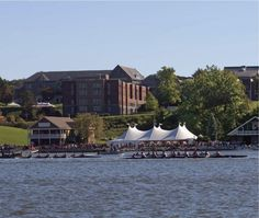 Marist College #Crew teams are always out on the Hudson River early!