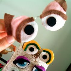 Muppet Peepers Craft