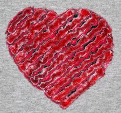 Create Chenille Hearts in your hoop with this design created for machine embroidery from EmbroideryGarden.com