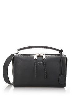 FENDI 'Lei Selleria' Bowler Bag. #fendi #bags #shoulder bags #hand bags #leather