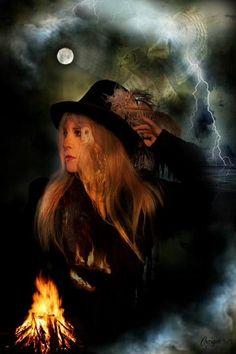 Stevie Nicks ~ by Craiger Martin Stevie Nicks Costume, Buckingham Nicks, Stephanie Lynn, Stevie Nicks Fleetwood Mac, White Witch, Music Images, Olivia Newton John, Rock N Roll, My Idol