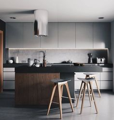 Modern kitchen design 👌 Yes or No? Tag someone who needs to see this! Interior Design Examples, Interior Design Inspiration, Modern Kitchen Design, Interior Design Kitchen, U Shaped Kitchen, Kitchen Stories, Luxury Interior, Interiores Design, Home And Living