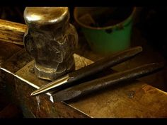 How to forge blacksmithing tools - The square and round punch.