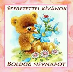 Teddy- Belles illustrations de G.Giordano /Tulip et Marigold 2 Clipart, Bear Clipart, Tatty Teddy, Cute Images, Cute Pictures, Night Pictures, Morning Pictures, Happy Monday Pictures, Tuesday Pictures