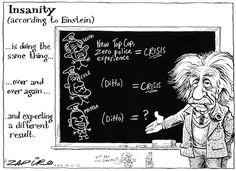 - Insanity according to Einstein - Zuma style Political Satire, Einstein, African, Memes, South Africa, Cartoons, Politics, Graphics, Image