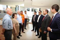 José Maiz y Ángel Macías, visitaron la UP Bonaterra ~ Ags Sports