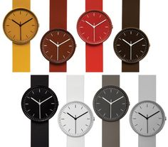 Minimal, beautiful watches from Uniform Wares.