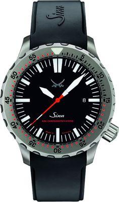 Sinn UX Dive Watch 12,000 meters (39,600 feet)