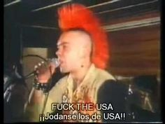 """The Exploited - Fuck the usa """"subtitulado en español"""" fuck - YouTube"""