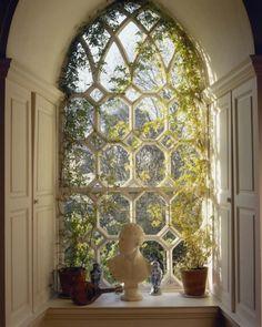 window seat & storage nook - lovely window!