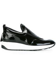 Maison Margiela varnished slip-on sneakers