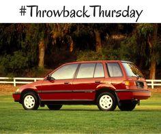 #TBT: 1989 Honda Civic Wagon