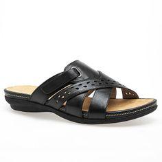 Addy Cutout Cloudwalkers® Comfort Sandal-Plus Size Cloudwalkers®  Sandal-Avenue