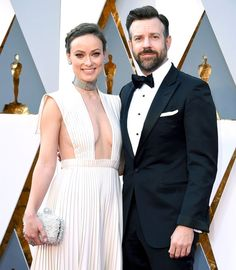 Jason Sudeikis gushed over newborn daughter Daisy in a new interview and revealed that fiancée Olivia Wilde had a Beyonce-related false alarm days before giving birth — read Jason Momoa, Jason Sudeikis, Harrison Ford, Text For Her, Beautiful Blue Eyes, Olivia Wilde, Saturday Night Live, Celebrity Couples, In Hollywood