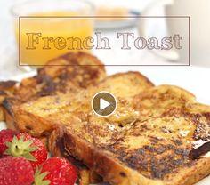 Marmiton pain perdu French Toast, Breakfast, Food, Recipe Videos, Morning Coffee, Essen, Meals, Yemek, Eten