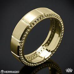 #whiteflash.com           #ring                     #Yellow #Gold #Verragio #Beaded #Satin #Chamber #Wedding #Ring                14k Yellow Gold Verragio Beaded Satin Chamber Wedding Ring                                              http://www.seapai.com/product.aspx?PID=756416