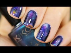 Galaxy Nails #2 Tutorial | Nail Art Galaxy
