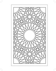 Islamic Art Pattern, Pattern Art, Motif Arabesque, Stencil Painting On Walls, Islamic Decor, Damask Stencil, Texture Photography, Floral Drawing, Flower Coloring Pages