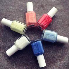 essie-sommer-le und weitere Produkte auf meinem Blog.