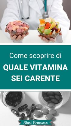 Come Scoprire Quale Vitamina Ti Manca (e Dove Trovarla) Food To Make, The Cure, Food And Drink, Homemade, Vegetables, Breakfast, Healthy, Fitness, Recipes