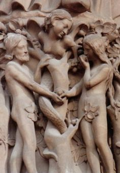 Adam, Eve, and Lilith - the three parts in one