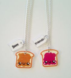 PB. & J. Best friends Necklaces