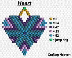 To be used with seed beads or delicas. Beaded Earrings Patterns, Beading Patterns Free, Peyote Patterns, Stitch Patterns, Bead Patterns, Seed Bead Bracelets Tutorials, Bead Loom Bracelets, Beading Tutorials, Bead Earrings