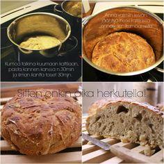 Talonpuolikas: The Kattilaleipä Banana Bread, Beef, Desserts, Food, Meat, Tailgate Desserts, Deserts, Essen, Postres