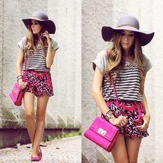 Savous Leopard Pink Shorts, Dafiti Bag