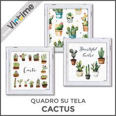 """Quadro su tela , 6 immagini """"CACTUS"""" assortite. Confezione: Termoretratta """"Virtime"""" Dimensioni: 45 x 45 cm Ref.: S33950/11  #Virtime #VirtimeClock #VirtimeHome #Quadrisutela #cactus #frame #Italy #italianfurniture #milan #buyfurniture #design #homedecor #tools #interiordesign #home #house #creative #furnituredesign #homeart #colorful #detail #homedecoration #decoration #designideas #nofilter #unique #furniture #wood #materials #nature #decorating #instadecor #designinspirations"""