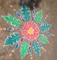 Kolam from Sita for Bday celebration time !