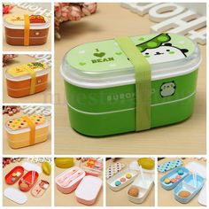$2.35 - Student Cartoon Lunch Box Food Container Storage Portable Bento Box Chopsticks #ebay #Home & Garden Cute Bento Boxes, Bento Box Lunch, Lunch Boxes, Box Lunches, School Lunches, Lunch Box Containers, Food Storage Containers, Portable Microwave, Microwave Oven