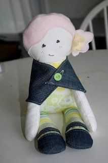 Cute doll, pattern and instructions