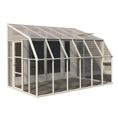 Rion Sun Room 8 ft. x 12 ft. Clear Greenhouse-702131 - The Home Depot