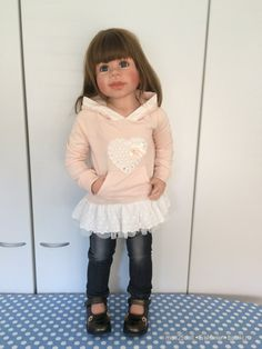 Мое ненаглядное солнышко, Давина от Моники Левениг / Коллекционные куклы Masterpiece dolls / Бэйбики. Куклы фото. Одежда для кукол Reborn Child, Reborn Toddler Girl, Reborn Babies, Toddler Girls, Pretty Baby, Bjd, Harajuku, Little Girls, Portugal
