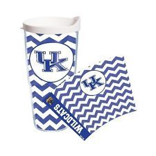 University of Kentucky Wildcats 24oz Tervis Tumbler Chevron or Clear